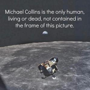 Moon shot - M. Collins