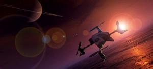 Quadcopter to Titan
