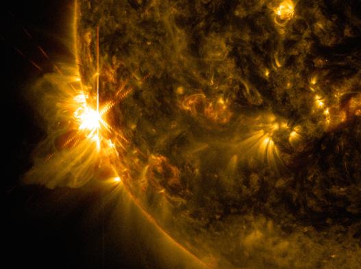 solar flare June 10 2014